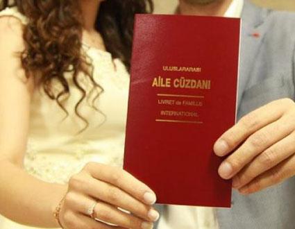 Evlilik Cüzdanı Fotokobisi